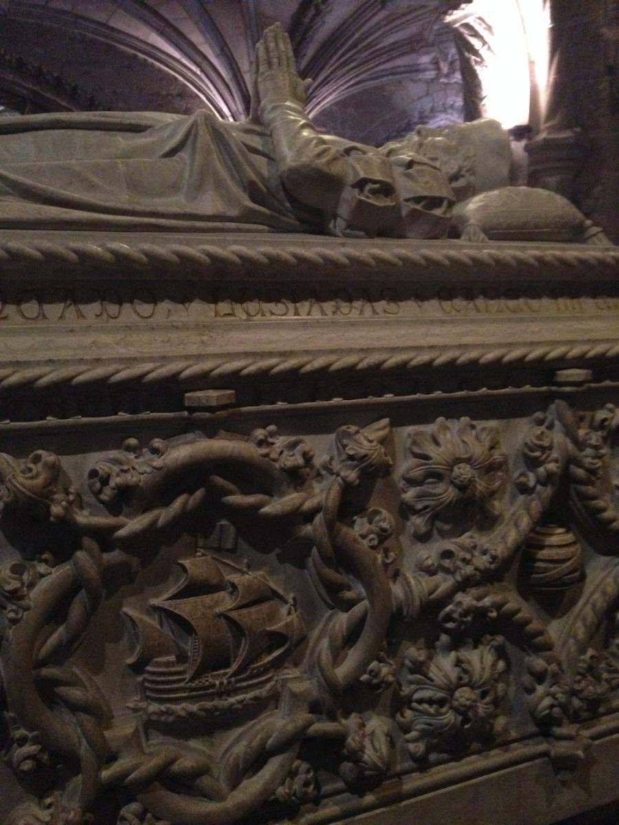 Tomb of Vasca da Gama, Jerónimos Monastery, Lisbon